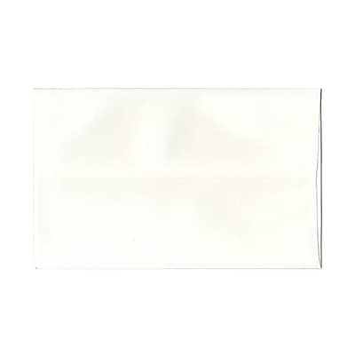 JAM Paper® A9 Invitation Envelopes, 5.75 x 8.75, Strathmore Bright White Wove, 50/Pack (31911140I)
