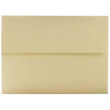 JAM Paper – Enveloppes A6 en papier recyclé, balle de blé, 250/paquet