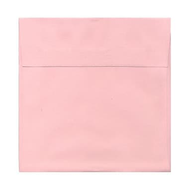 JAM Paper® 8.5 x 8.5 Square Envelopes, Baby Pink, 250/Pack (327912965H)
