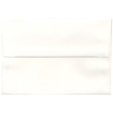 JAM Paper® A8 Invitation Envelopes, 5.5 x 8.125, Strathmore Bright White Laid, 250/box (33028H)