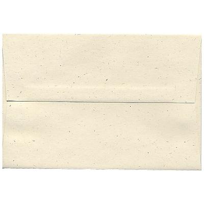 JAM Paper® A8 Invitation Envelopes, 5.5 x 8.125, Milkweed Ivory Recycled, 50/pack (3305I)