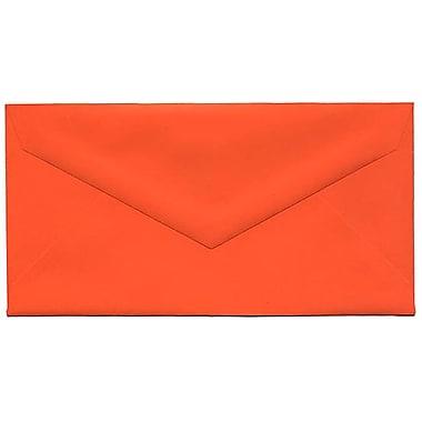 JAM Paper – Enveloppes recyclées Brite Hue no 7,75, 3,88 x 7,5 po, orange, 500/paquet
