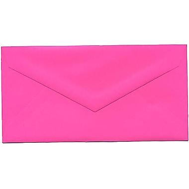 JAM Paper – Enveloppes recyclées Brite Hue nº 7,75 (3,88 x 7,5 po), fuchsia intense, 500/bte