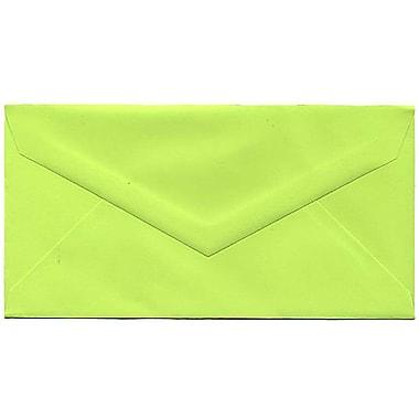 JAM Paper – Enveloppes recyclées Brite Hue nº 7,75 (3,88 x 7,5 po), lime intense, 500/bte