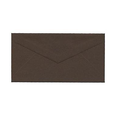 JAM Paper – Enveloppes recyclées no 7,75, 3,88 x 7,5 po, brun chocolat, 500/paquet