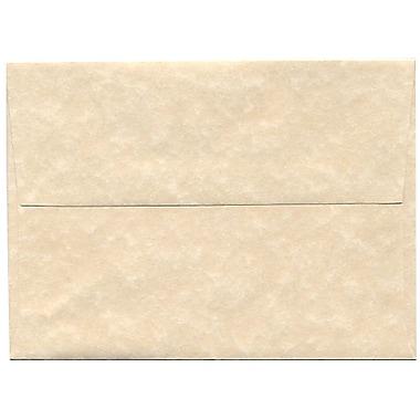JAM PaperMD – Enveloppes en papier recyclé format A6, effet parchemin, naturel, paq./250