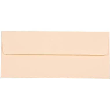 JAM Paper® #10 Business Envelopes, 4 1/8 x 9.5, Strathmore Natural White Wove, 500/Pack (34992H)