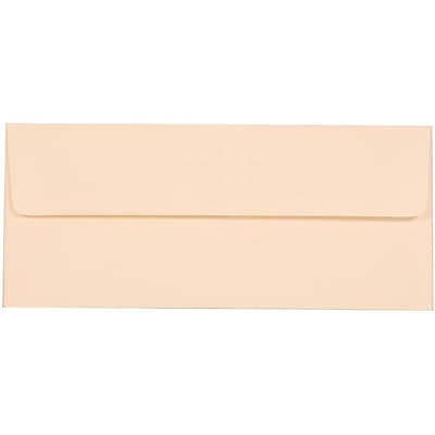 JAM Paper® #10 Business Envelopes, 4 1/8 x 9 1/2, Strathmore Natural White Wove, 500/box (34992H)
