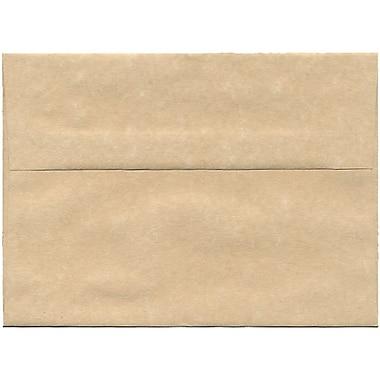 JAM PaperMD – Enveloppes A7 en papier recyclé, papier parchemin brun, 250/paquet
