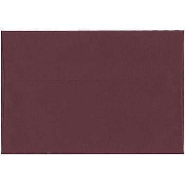 JAM Paper – Enveloppes A8 simples foncées, bourgogne, 250/paquet