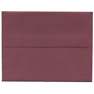 JAM Paper® A2 Invitation Envelopes, 4.38 x 5.75, Burgundy, 250/Pack (36395847H)
