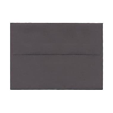JAM Paper® 4bar A1 Envelopes, 3.63 x 5 1/8, Dark Grey, 250/Pack (36396431H)