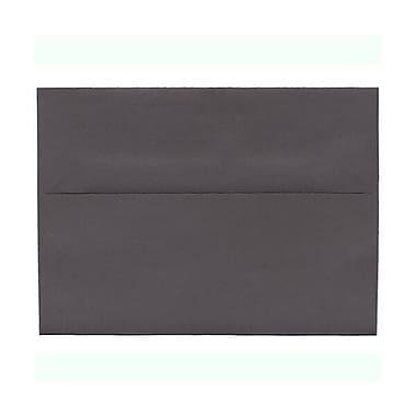 JAM PaperMD – Enveloppes simples A7 nuances foncées, gris foncé, 250/paquet