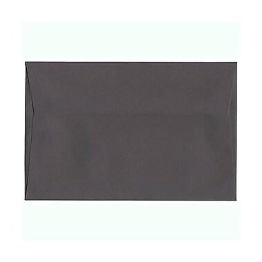 JAM Paper – Enveloppes A9 nuances foncées, gris foncé, 250/paquet