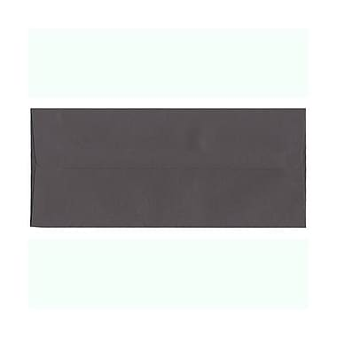 JAM Paper® #10 Business Envelopes, 4 1/8 x 9.5, Dark Grey, 500/Pack (36396438H)