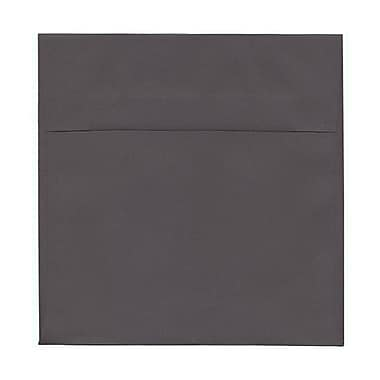 JAM Paper® 8.5 x 8.5 Square Envelopes, Dark Grey, 50/Pack (36396440I)