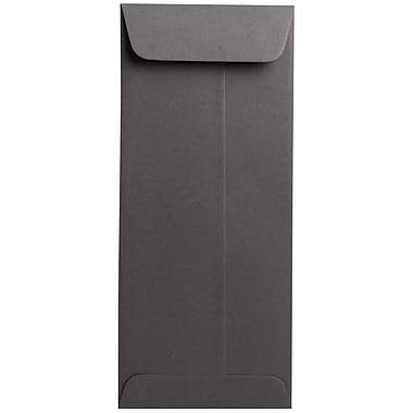 JAM Paper® #10 Policy Envelopes, 4 1/8 x 9.5, Dark Grey, 500/Pack (36396445H)