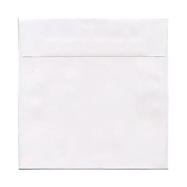 JAM Paper® 8 x 8 Square Envelopes, White, 50/Pack (3992315I)