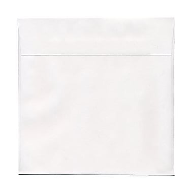JAM Paper® 10 x 10 Square Envelopes, White, 50/pack (3992319I)