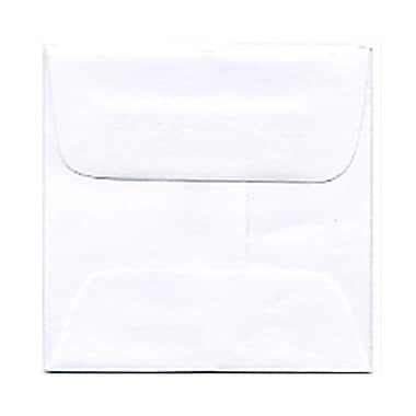 JAM Paper® 2.38 x 2.38 Mini Square Envelopes, White, 250/Pack (3993004H)