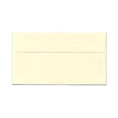 JAM Paper® 4.5 x 8.125 Booklet Envelopes, Ivory, 50/pack (4093016I)