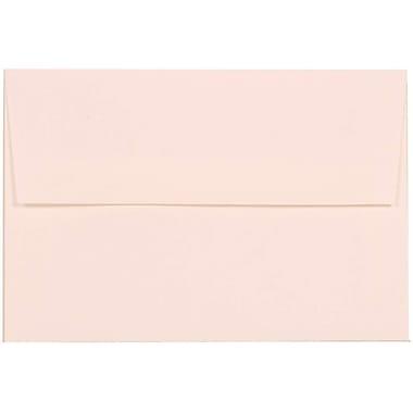 JAM Paper® A8 Invitation Envelopes, 5.5 x 8.125, Strathmore Bright White Via Linen Recycled, 50/pack (40934I)