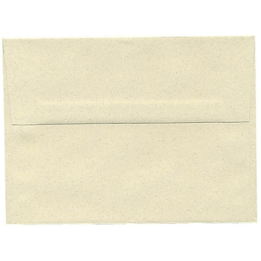 JAM Paper® A6 Invitation Envelopes, 4.75 x 6.5, Gypsum Ivory Recycled, 250/Pack (41346H)