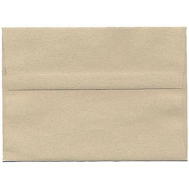 JAM Paper – Enveloppes A7 en papier recyclé, format passeport, grès, 250/paquet
