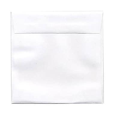 JAM Paper – Enveloppes blanches, 4,5 x 4,5 po, 250/paquet