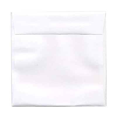 JAM Paper® 4.5 x 4.5 Square Envelopes, White, 50/pack (439911145I)