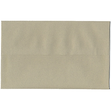 JAM Paper – Enveloppes A10 en papier recyclé, format passeport, vert sauge, 250/paquet