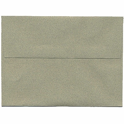 JAM Paper® A6 Invitation Envelopes, 4.75 x 6.5, Sage Green Recycled, 250/box (49165H)
