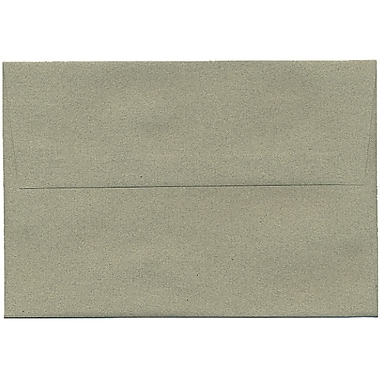 JAM Paper® A8 Invitation Envelopes, 5.5 x 8.125, Sage Green Recycled, 50/pack (49181I)
