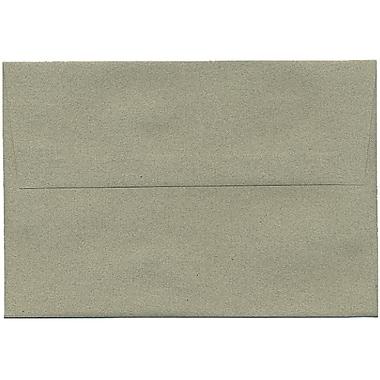 JAM Paper – Enveloppes A8 en papier recyclé, format passeport, vert sauge, 250/paquet