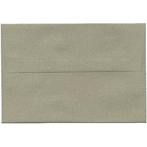 JAM Paper® A8 Passport Invitation Envelopes, 5.5 x 8.125, Sage Green Recycled, 50/Pack (49181I)