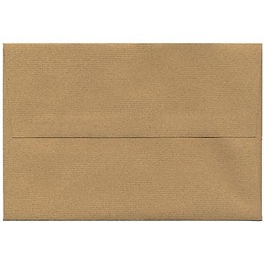 JAM Paper – Enveloppes A8 en papier recyclé format passeport, gingembre, 250/paquet