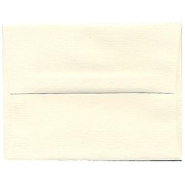 JAM Paper – Enveloppes A2 en papier recyclé blanc naturel, 250/paquet