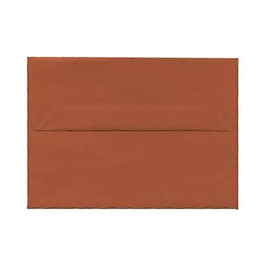 JAM Paper® 4bar A1 Envelopes, 3.63 x 5 1/8, Dark Orange, 250/Pack (5157436H)