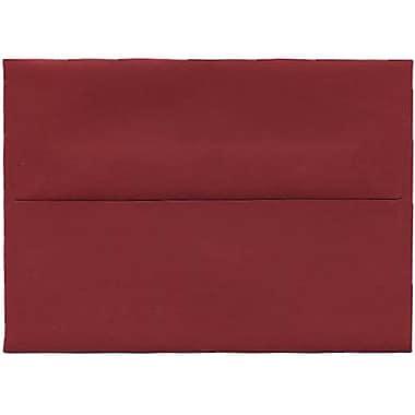 JAM Paper – Enveloppes A1 simples, rouge foncé, 250/paquet