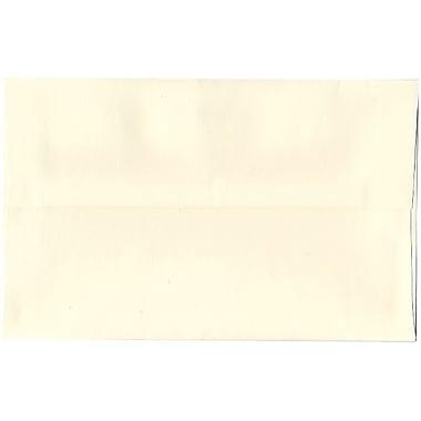 JAM Paper – Enveloppes Strathmore A10, blanc naturel, 250/paquet