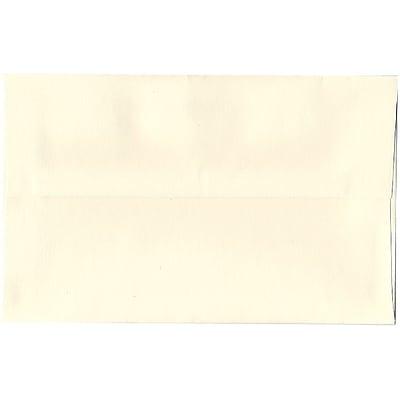 JAM Paper® A10 Invitation Envelopes, 6 x 9.5, Strathmore Natural White Wove, 50/pack (5197144I)