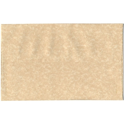 JAM Paper® A10 Invitation Envelopes, 6 x 9.5, Parchment Brown Recycled, 50/pack (52074I)