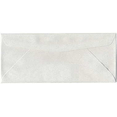 JAM Paper® #10 Business Envelopes, 4 1/8 x 9.5, Pumice White Recycled, 500/Pack (54041H)