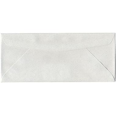JAM Paper – Enveloppes format passeport en papier recyclé nº 10 (4,13 x 9,5 po), pierre ponce, paquet de 500
