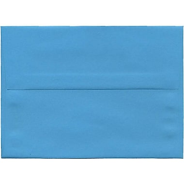 JAM Paper® A7 Invitation Envelopes, 5.25 x 7.25, Brite Hue Blue, 250/Pack (54093H)