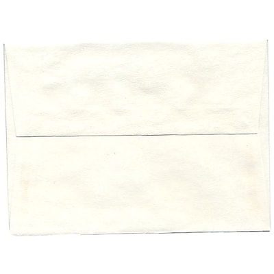 JAM Paper® A6 Invitation Envelopes, 4.75 x 6.5, Parchment White Recycled, 50/pack (56309I)