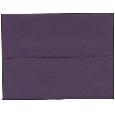 JAM Paper® A2 Invitation Envelopes, 4.38 x 5.75, Dark Purple, 250/Pack (563912506H)