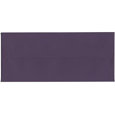 JAM Paper® #10 Business Envelopes, 4 1/8 x 9.5, Dark Purple, 500/Pack (563912516H)