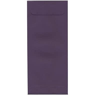 JAM Paper – Enveloppe commerciale foncée nº 10 (4,13 po x 9,5 po), violet, 500/bte