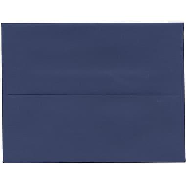 JAM Paper – Enveloppes A2 de ton foncé, bleu présidentiel, 250/paquet